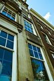 ολλανδική προοπτική αρχιτεκτονικής Στοκ Φωτογραφίες