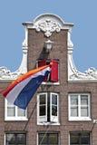 ολλανδική σημαία Ολλαν&del Στοκ φωτογραφίες με δικαίωμα ελεύθερης χρήσης