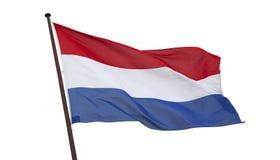 ολλανδική σημαία Στοκ φωτογραφία με δικαίωμα ελεύθερης χρήσης