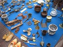 ολλανδική jumble πώληση στοκ φωτογραφία