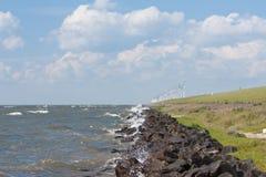 ολλανδικοί ανεμόμυλοι & Στοκ εικόνες με δικαίωμα ελεύθερης χρήσης