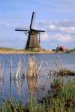 ολλανδικοί ανεμόμυλοι Στοκ Εικόνα