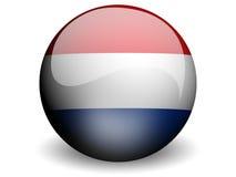 ολλανδικός κύκλος σημαιών Στοκ Φωτογραφίες
