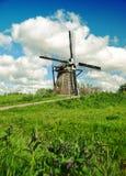 ολλανδικός παλαιός ανεμόμυλος Στοκ φωτογραφία με δικαίωμα ελεύθερης χρήσης