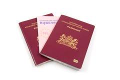 ολλανδικό διαβατήριο α&delt Στοκ Εικόνες