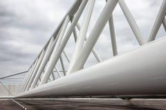 Ολλανδικό εμπόδιο κύματος θύελλας λεπτομέρειας που προστατεύει το λιμάνι του Ρότερνταμ Στοκ φωτογραφία με δικαίωμα ελεύθερης χρήσης