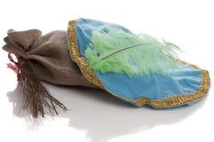 Ολλανδικό καπέλο Sinterklaas Pieten με τα αυγοτάραχα Στοκ Εικόνες