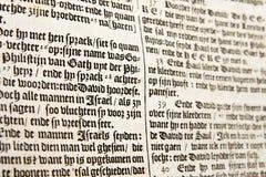 ολλανδικό παλαιό κείμεν&omi Στοκ εικόνες με δικαίωμα ελεύθερης χρήσης