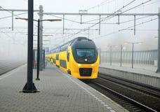 ολλανδικό τραίνο Στοκ εικόνα με δικαίωμα ελεύθερης χρήσης