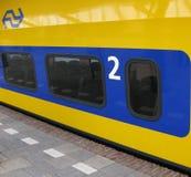 ολλανδικό τραίνο Στοκ Εικόνα