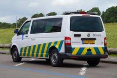 Ολλανδικό φορτηγό Belastingdienst Douane στοκ φωτογραφία με δικαίωμα ελεύθερης χρήσης