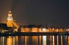 ολλανδικό χωριό όψης στοκ εικόνες