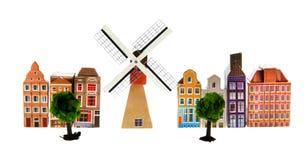 ολλανδικό χωριό στοκ εικόνες με δικαίωμα ελεύθερης χρήσης