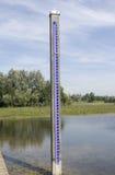 ολλανδικό ύδωρ επιπέδων μ&ep Στοκ φωτογραφία με δικαίωμα ελεύθερης χρήσης