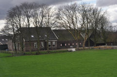 Ολλανδικό farmhouse Στοκ φωτογραφίες με δικαίωμα ελεύθερης χρήσης