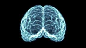 Ολογραφικός εγκέφαλος HD πλέγματος απεικόνιση αποθεμάτων