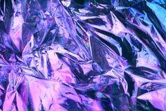 Ολογραφικό υπόβαθρο σύστασης ύφους Vaporwave: ρόδινη φοβιτσιάρης σύσταση χρωμάτων νέου στοκ φωτογραφίες