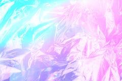 Ολογραφικό υπόβαθρο σύστασης ύφους Vaporwave: ρόδινη φοβιτσιάρης σύσταση νέου στοκ φωτογραφία με δικαίωμα ελεύθερης χρήσης