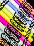 Ολοκαίνουργια κραγιόνια Crayola στοκ εικόνα με δικαίωμα ελεύθερης χρήσης