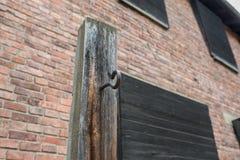 Ολοκαύτωμα αναμνηστικό Auschwitz - Birkenau - Πολωνία στοκ φωτογραφία με δικαίωμα ελεύθερης χρήσης