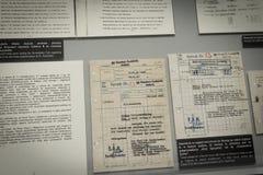 Ολοκαύτωμα αναμνηστικό Auschwitz - Birkenau - Πολωνία στοκ εικόνα
