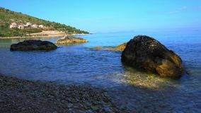 Ολυμπία Beach στο νησί Ελλάδα Kefalonia φιλμ μικρού μήκους