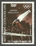 Ολυμπιακοί Αγώνες Λος Άντζελες, μπάρες paralleles Στοκ Εικόνες