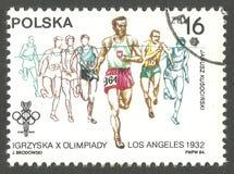 Ολυμπιακοί Αγώνες, Λος Άντζελες Στοκ Φωτογραφία
