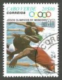 Ολυμπιακοί Αγώνες, Μόσχα, κολύμβηση Στοκ φωτογραφίες με δικαίωμα ελεύθερης χρήσης