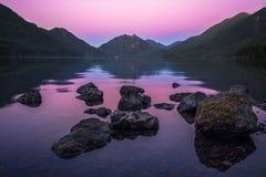 Ολυμπιακός και ηλιοβασίλεμα Στοκ φωτογραφίες με δικαίωμα ελεύθερης χρήσης