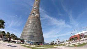 Ολυμπιακός πύργος Doha απόθεμα βίντεο