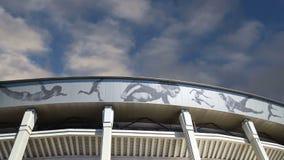 Ολυμπιακός σύνθετος Luzhniki σταδίων αθλητικών χώρων της Μόσχας μεγάλος -- Στάδιο για το Παγκόσμιο Κύπελλο της FIFA του 2018 στη  φιλμ μικρού μήκους