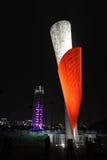 Ολυμπιακός φανός του Πεκίνου 2008 στοκ εικόνες