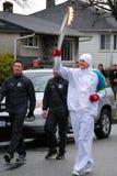 ολυμπιακός φανός φορέων στοκ φωτογραφία