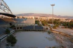 Ολυμπιακό κέντρο πετοσφαίρισης παραλιών Faliro - ολυμπιακός σύνθετος παράκτιας ζώνης Faliro 14 έτη μετά από τους θερινούς Ολυμπια στοκ φωτογραφία
