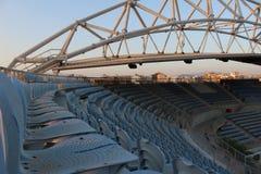 Ολυμπιακό κέντρο πετοσφαίρισης παραλιών Faliro - ολυμπιακός σύνθετος παράκτιας ζώνης Faliro 14 έτη μετά από τους θερινούς Ολυμπια στοκ φωτογραφίες