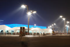 ολυμπιακό στάδιο του Πεκίνου Στοκ Εικόνα