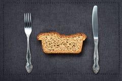 Ολόκληρο σιτάρι ή ολόκληρο ψωμί σίτου στοκ εικόνα