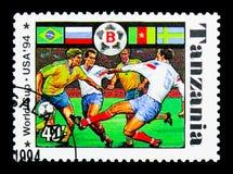 Ομάδα Β, πρωτάθλημα ποδοσφαίρου Παγκόσμιου Κυπέλλου του 1994 serie, circa 1994 Στοκ εικόνα με δικαίωμα ελεύθερης χρήσης