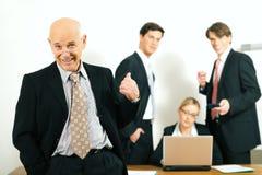 ομάδα επιτυχίας teamleader Στοκ εικόνες με δικαίωμα ελεύθερης χρήσης
