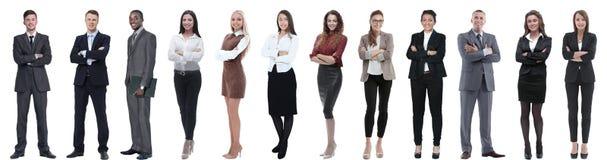 Ομάδα επιτυχών επιχειρηματιών που απομονώνονται στο λευκό στοκ φωτογραφίες με δικαίωμα ελεύθερης χρήσης