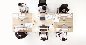 Ομάδα 6 επιχειρηματιών φιλμ μικρού μήκους