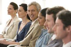 ομάδα επιχειρηματιών Στοκ Εικόνα
