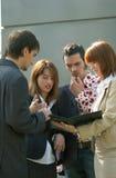 ομάδα επιχειρησιακής συζήτησης στοκ φωτογραφία με δικαίωμα ελεύθερης χρήσης