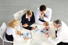 ομάδα επιχειρησιακής συζήτησης Στοκ Εικόνες