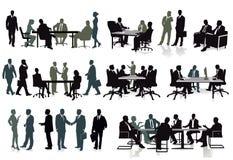 Ομάδα επιχειρησιακών ομάδων - απεικόνιση στοκ εικόνες