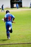 Ομάδα κρίκετ της Ινδίας στοκ εικόνες με δικαίωμα ελεύθερης χρήσης