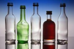 Ομάδα μίνι μπουκαλιών Στοκ εικόνα με δικαίωμα ελεύθερης χρήσης