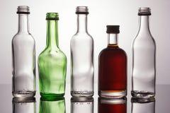 Ομάδα μίνι μπουκαλιών Στοκ φωτογραφία με δικαίωμα ελεύθερης χρήσης