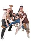 Ομάδα νεαρών άνδρων Στοκ Εικόνα